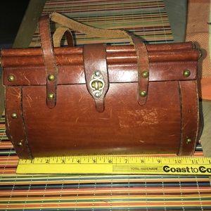 John Romain vintage satchel